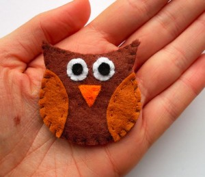 How-to Owl Brooch